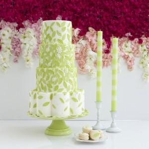 Oscar De La Renta Inspired Cake by The Caketress