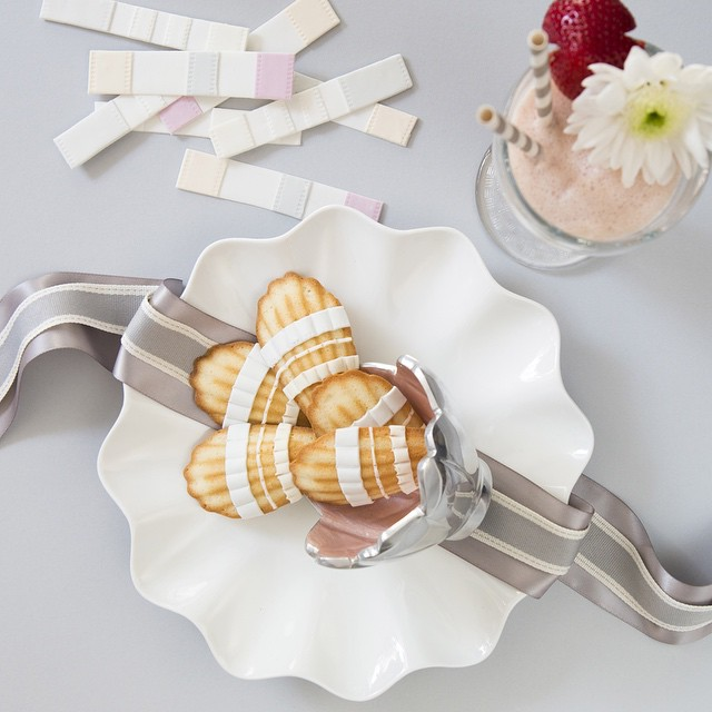 Dior Inspired madeleines by The Caketress , UAE bakery