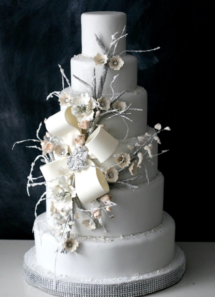 Towering Wedding Cakes