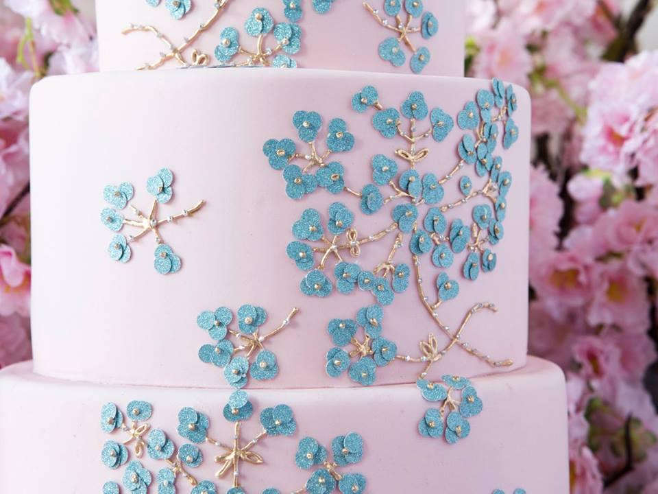 delpozo ss2016 pink cake